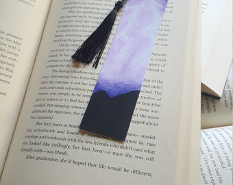 Beautiful Handmade Lightning Bookmark