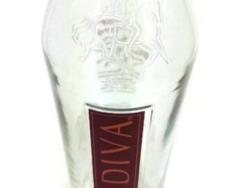 Upcycled Godiva Vodka Vase