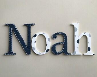 Nursery decor, Nursery wall decor, Nursery letters, Boy Nursery wall hanging letters, nursery decor, nursery wall letters