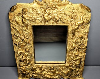 Set of Vintage Hollywood/Rococo Gold Gilt Mirrors