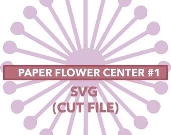 Flower Center #1 SVG File