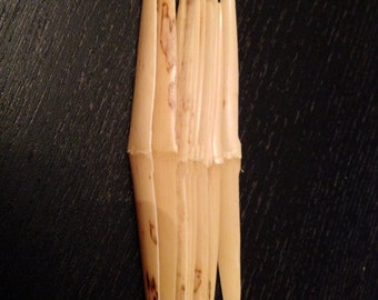 Shaped Oboe Reed Cane