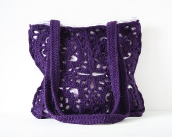 Crochet shoulderbag Pina