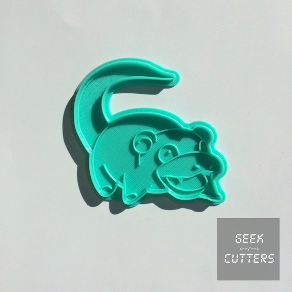 Pokemon - Slowpoke Cookie Cutter -  *Dishwasher safe option* - 3D Printed