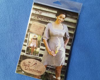 The Ashland - Uncut Dress Pattern by Sew Liberated, no 115, sizes 2-20, cup sizes A-D