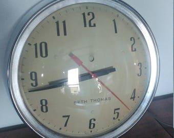 Seth Thomas retro wall clock