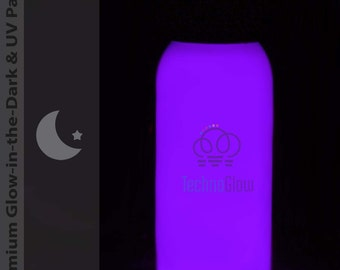 Purple Glow in the Dark & UV Paint