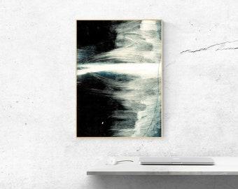 Dark Abstract Art Print. Abstract Art Print. Dark Abstract Art. Large Abstract Art Print