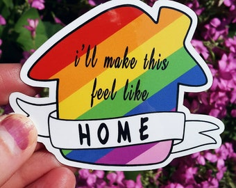 LGBT Stickers, LGBT, Louis Tomlinson, One Direction, 1D, Cute Stickers, Laptop Stickers, Notebook Stickers, LGBT Pride, Stickers, Gay Pride
