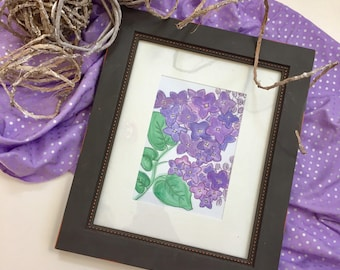 Handmade Lilacs Digital File