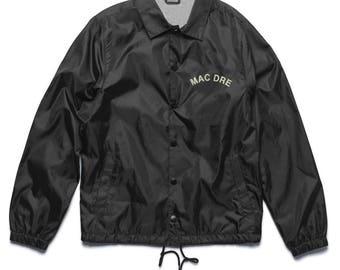 "Vintage Inspired Mac Dre ""California Livin"" Coach Jacket"