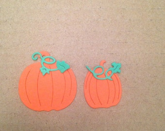 Miniature Pumpkin Die Cuts