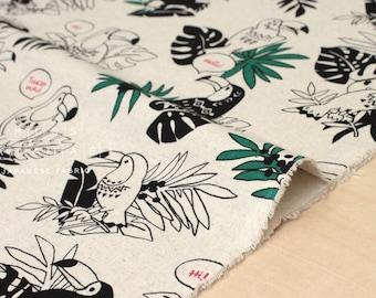 Japanese Fabric Toucan Birds - 50cm