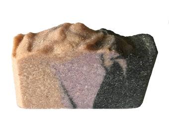 Black Amber Sea Salt Soap with charcoal