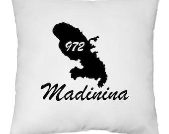 Cover cushion 40 x 40 cm - Martinique - my 972 - Yonacrea