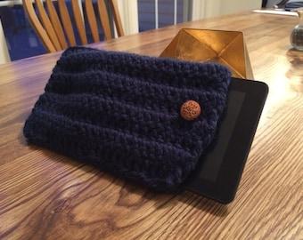 Kindle Case Navy Blue