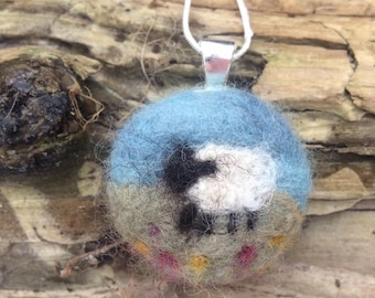 Little Sheep in the Meadow Necklace