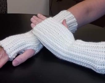 Fingerless gloves, arm warmers, hand warmers, wrist warmers, texting gloves, crochet gloves, winter gloves,