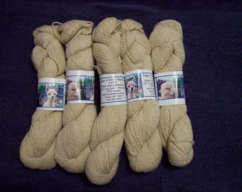 Alpaca Yarn – Silver and Genevieve (2 ply sport weight)