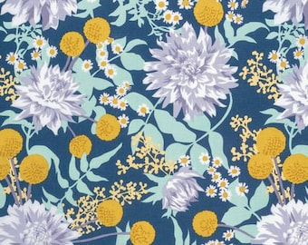 Moon Garden Midnight - Wander - Joel Dewberry -PWJD115 - Quilters Cotton
