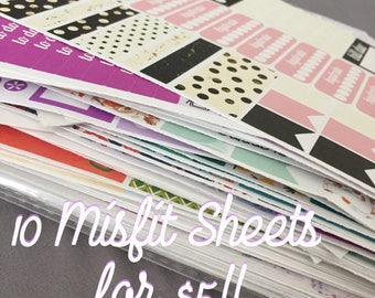 MISFIT KIT Grab Bag- 10 KIT Sheets!!!!
