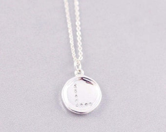 L Letter Necklace | L Initial Necklace | L | Letter Necklaces | Personalised Jewelry | Minimal Necklace | L Tiny Letter Necklace |S