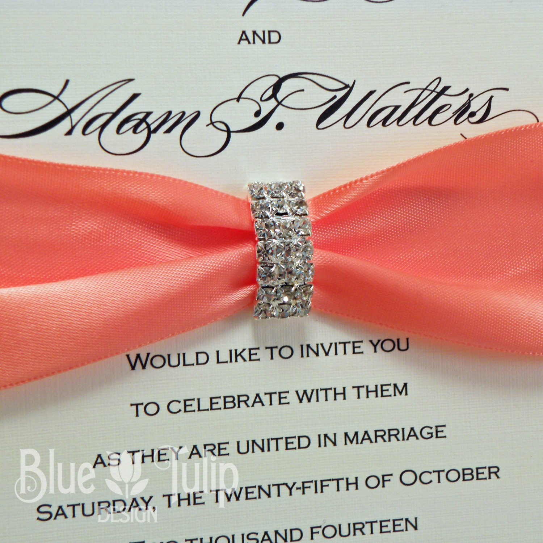 Old Fashioned Wedding Invitation Buckles Elaboration - Invitation ...