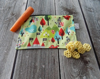 Snack Bag, Waterproof Bag, Lunch Bag, Sandwich Bag, Waterproof Pouch, Eco-Friendly Bag, Bulk Bag, Food Bag, Knights