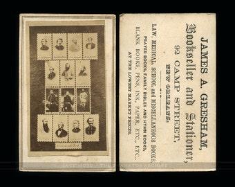 """Rare Civil War CDV """"The Confederate Dead"""""""