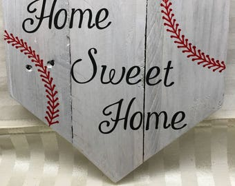 Wood Sign - Home Sweet Home