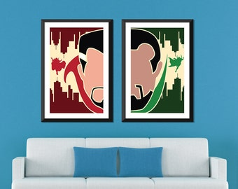 Marvel Minimalist: Doctor Strange & Baron Mordo Set
