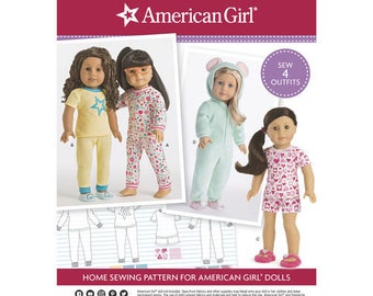 """Simplicity Pattern 8535 American Girl 18"""" Doll Clothes"""