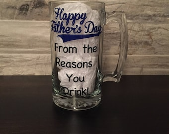 Happy Father's Day Beer Mug