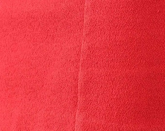 100% cotton thick woven Red