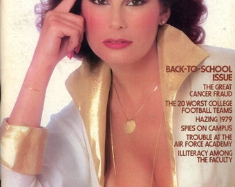 Penthouse Magazine October 1979 Very Good Condition Mature