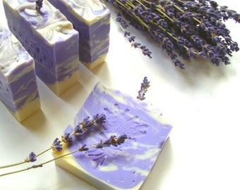 Lavender Fields Organic all Natural Handmade Soap