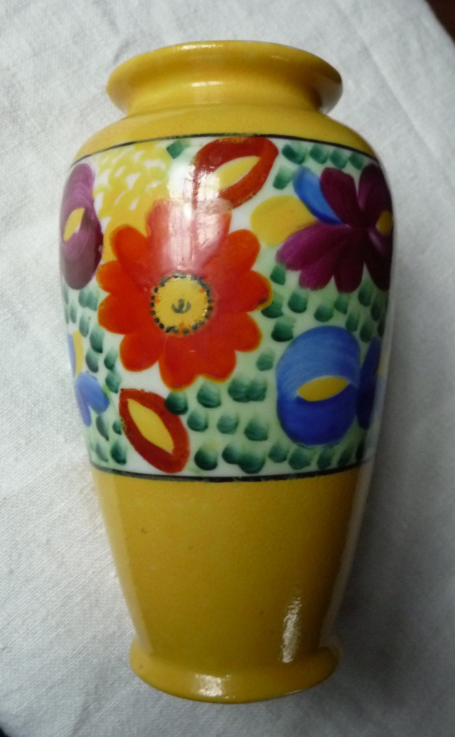 Nippon hand painted flower vase colorful floral design zoom reviewsmspy