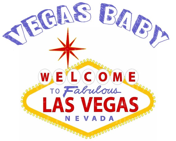 Las Vegas Sign Happy Birthday - Edible Cake and Cupcake Topper For Birthday's and Parties! - D22775