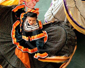 Danseurs mexicains, Art mural, danse latine, danse photographie