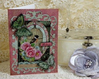 Birthday Card, All Occasion Card, Handcrafted Card