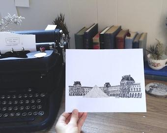 Le Louvre – Print