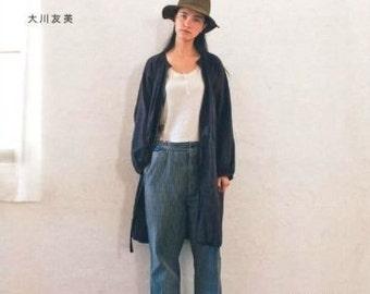 Simple Chic by Tomomi Okawa (Japanese sewing book, Japanese craft book)