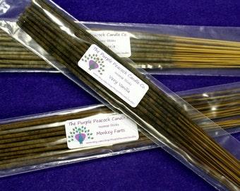 Very Vanilla Incense Sticks, Incense, Vanilla Scented, Incense Sticks, Vanilla Incense, Handmade Incense Sticks, Vanilla Incense Sticks