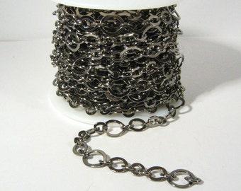 3ft Steampunk Chain - Gunmetal - CH28