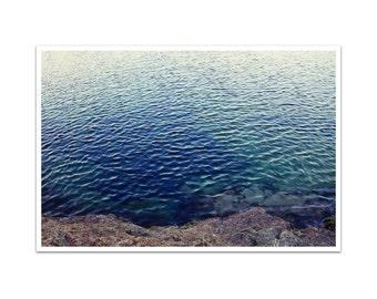 big sur photography // beach art print // modern nature photography - Water's Edge