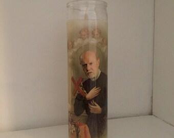 St George Carlin Prayer Candle