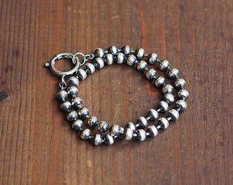 Double Wrap Ball Chain Bracelet/Choker