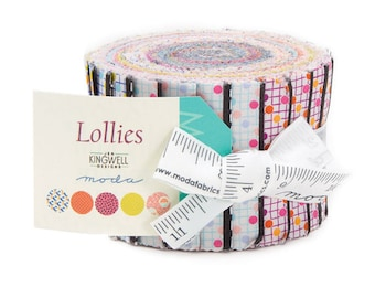 Lollies by Jen Kingwell for Moda - 20 pc. Jelly Design Roll - Cotton Quilt Fabric