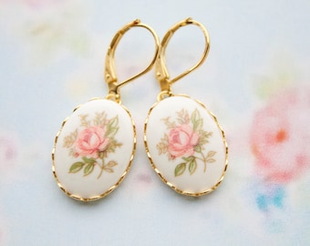 Polished EMMA ROSE- Dangle earrings