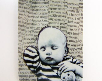 Baby baby three, ACEO print